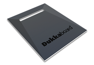 Dukkaboard Shower-Trays - Channel Drain - End Quad Gradient