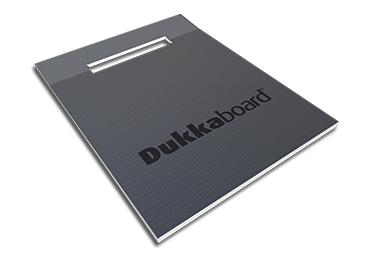 Dukkaboard Shower-Trays - Channel Drain - End Twin Gradient