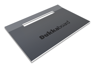 Dukkaboard Shower-Trays - Channel Drain - Long Twin Gradient