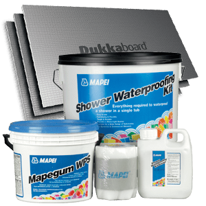 Tile Backing & Waterproofing