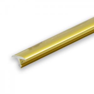 Progress Gold Aluminium Joint Cover Transition- 2.7m