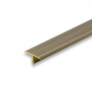 Progress Antique Brass Aluminium Joint Cover Transition - 2.7m