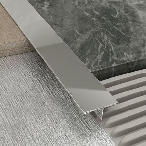 Atrim Stainless Steel Joint Cover Transition Profile