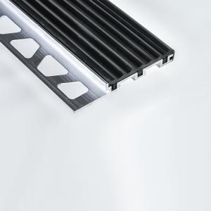 Schluter Aluminium TREP-S / -B - Stair Edging - 2.5m