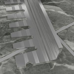 Atrim Aluminium Formable Square Edge Profile - 2.5m