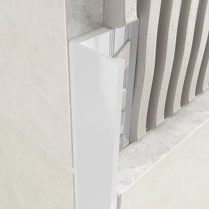 Atrim Coated Aluminium Straight Edge