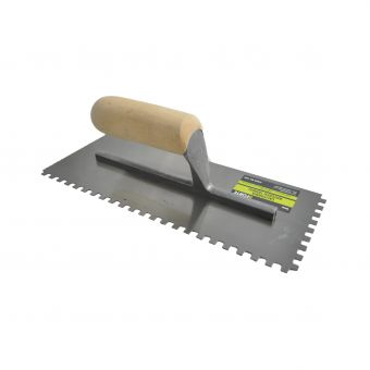 Forte California Pattern Notched Trowel