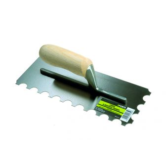 FORTE U Notched California Notched Trowel