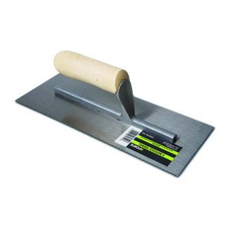 FORTE V Notched California Pattern Trowel