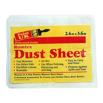 Dust Sheet 3.6 x 2.4m-12' x 8'