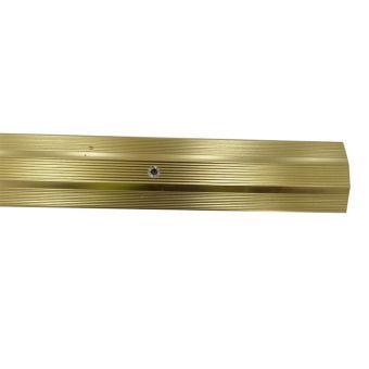 Atrim Screwgrip Profile - Brass - 2.8m
