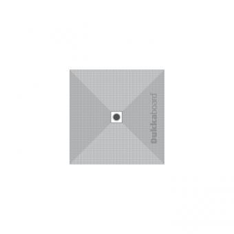 Dukkaboard Shower-Tray Square - Centre Drain - 800x800mm