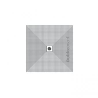Dukkaboard Shower-Tray Square - Centre Drain - 1000x1000mm