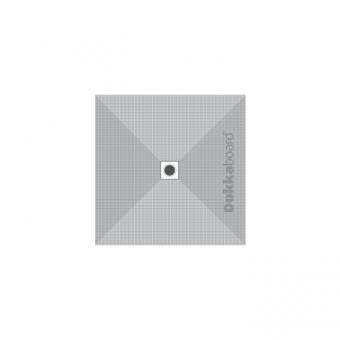 Dukkaboard Shower-Tray Square - Centre Drain - 900x900mm
