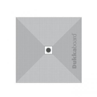 Dukkaboard Shower-Tray Square - Centre Drain - 1500x1500mm