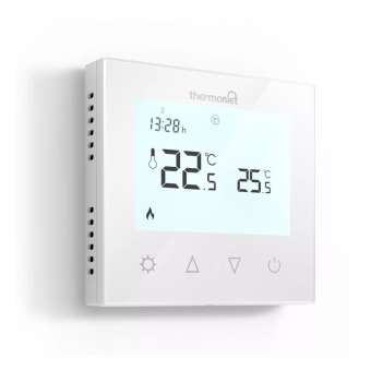 ThermoSphere 7.6iG Glass Programmable Thermostat