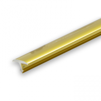 Progress Gold Aluminium Joint Cover Transition- 2.7m