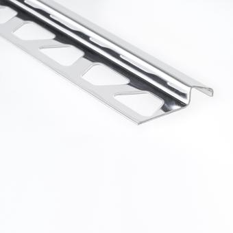 Schluter Stainless Steel RENO-EU - 2.5m