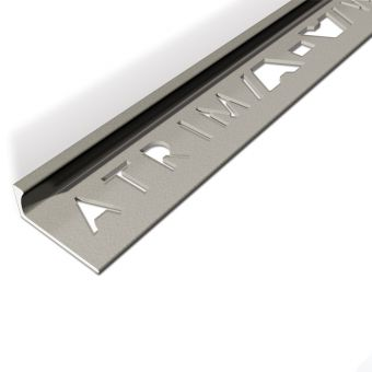 Atrim Granite Coated Effect Aluminium Straight Edge - 2.5m