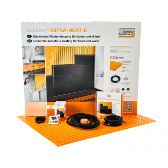 Schluter DITRA-HEAT-E-DUO-S - WiFi Underfloor Heating Kits-2.2 m2