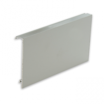 Progress Aluminium Cable Conceal Skirting Channel - 2m