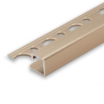 Progress Copper Aluminium Cube Edge - 2.7m