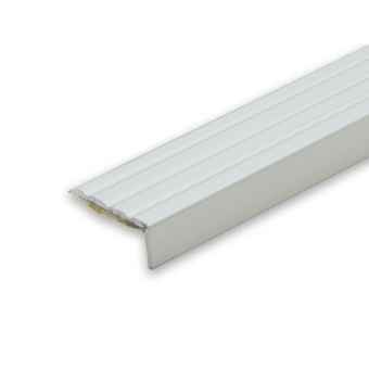 Progress Self Adhesive Anodised Aluminium Stair Nosing - 2.7m