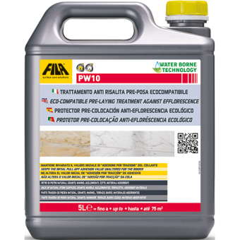 Fila PW10 ECO-COMPATIBLE PRE-LAYING TREATMENT AGAINST EFFLORESCENCE