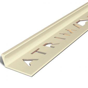 Atrim Basalt Coated Effect Aluminium Straight Edge - 2.5m