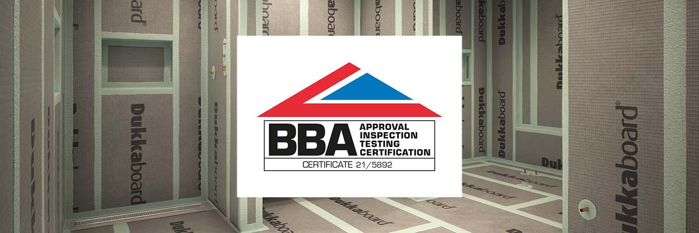 Dukkaboard  Tile Backer Board Achieved BBA Approval
