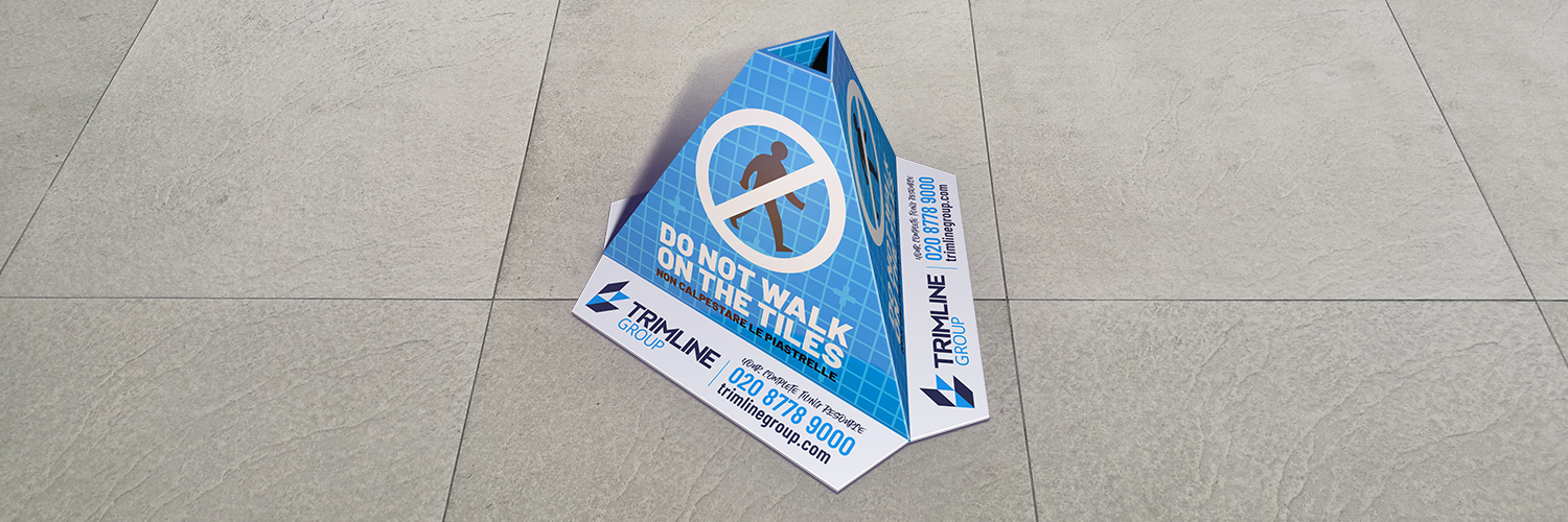 Trimline releases its free New Laid Floor Warning Cones
