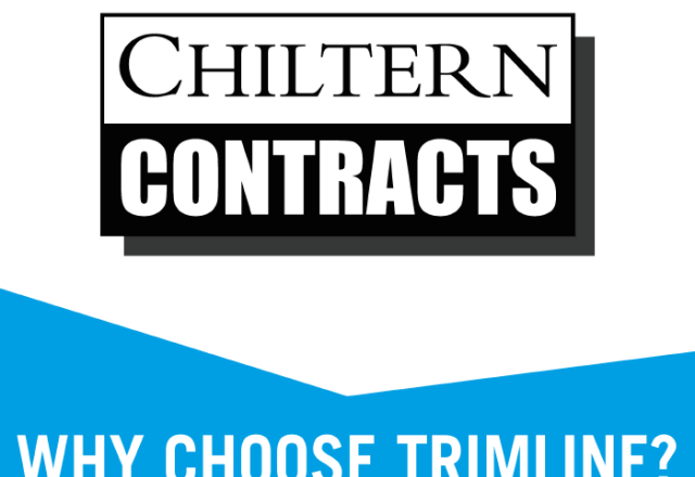 Why Choose Trimline : With Chiltern Contracts